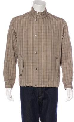 Dunhill Plaid Harrington Jacket
