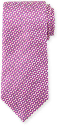 Charvet Graphic-Pattern Silk Tie
