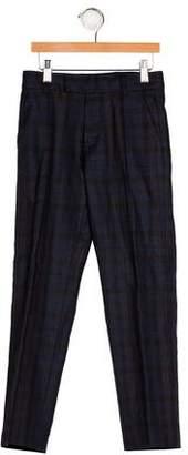 Little Marc Jacobs Boys' Plaid Wool Pants