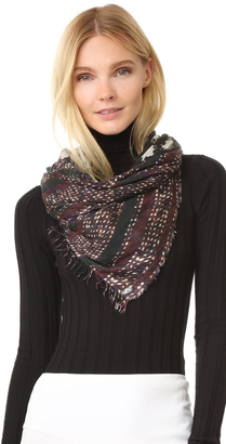 Yigal Azrouel Jagger's Teepee Scarf $350 thestylecure.com