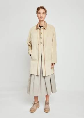 Nehera Janiky Corduroy Trench Coat