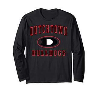 Dutchtown High School Bulldogs Long Sleeve T-Shirt C1