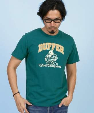 The DUFFER of ST. GEORGE WORLD CHAMPIONS TEE: ロゴTシャツ