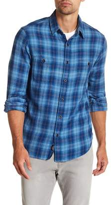 Faherty BRAND Season Plaid Long Sleeve Trim Fit Shirt
