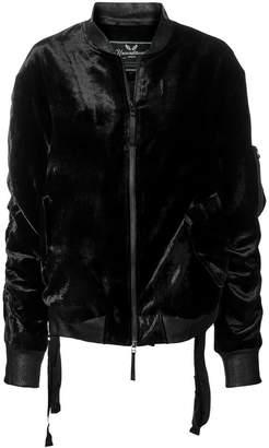 Unconditional zipped jacket