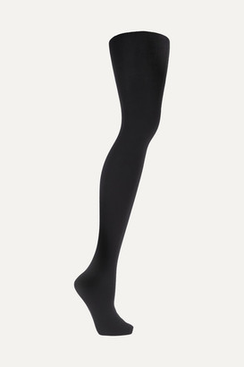 Wolford Set Of Two Matte Opaque 80 Denier Tights - Black