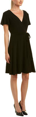 Tahari by Arthur S. Levine Tahari Asl Faux Wrap Dress