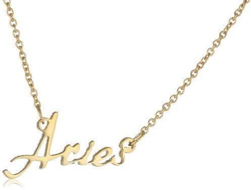 "Rebecca Minkoff Zodiac Aries Necklace, 16"""