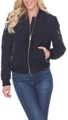 White Mark Women's Bomber Jacket
