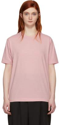 Blue Blue Japan Pink Zimbabwe Narrow Neck T-Shirt