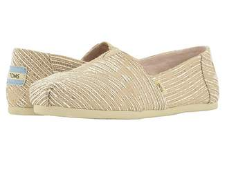 Toms Alpargata (Oxford Tan Abstract Jaquard