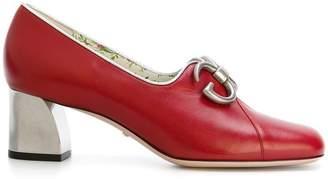 Gucci Ayers mid heel pumps