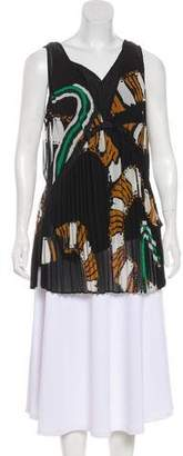 By Malene Birger Layered Sleeveless Pleated Top w/ Tags