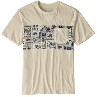 Patagonia Men's Limited Edition Opihi Man Organic Cotton Pocket T-Shirt