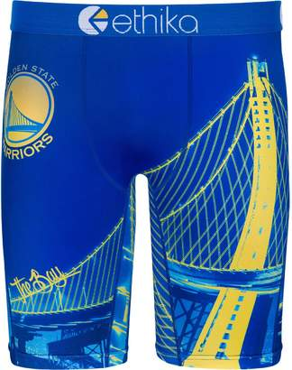 Ethika Unbranded Men's for Fanatics Blue Golden State Warriors Baller Boxer Brief