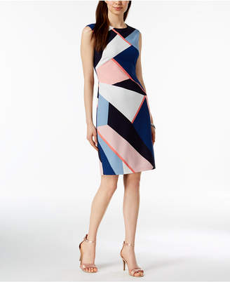 Vince Camuto Printed Sheath Dress