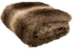 Safavieh Luxe Sheen Faux Fur Throw