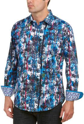 Robert Graham Classic Fit Drew Circle Woven Shirt