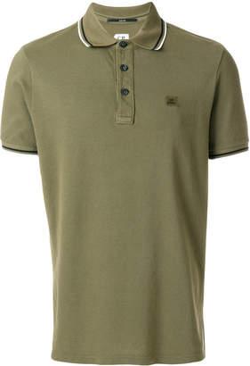 C.P. Company logo polo shirt