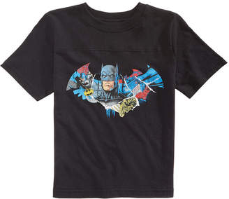 Dc Comics Toddler Boys Batman Shield Graphic Cotton T-Shirt
