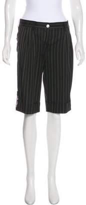 Dolce & Gabbana Stripe Bermuda Shorts