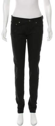 Saint Laurent Mid-Rise Skinny Jeans w/ Tags