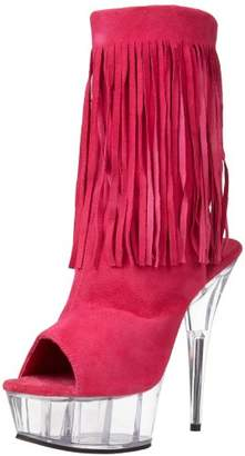 Pleaser USA Women's Delight-1019 Ankle Boot