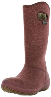 Bogs Women's Charlie Melange Waterproof Insulated Boots Brown Size8, 72034