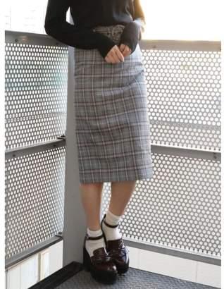 dazzlin (ダズリン) - dazzlin ベルト付チェックナロースカート