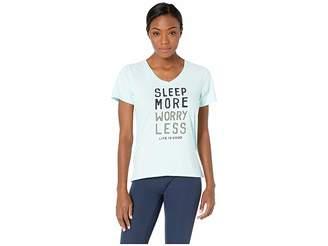 Life is Good Snuggle Up Sleep Vee