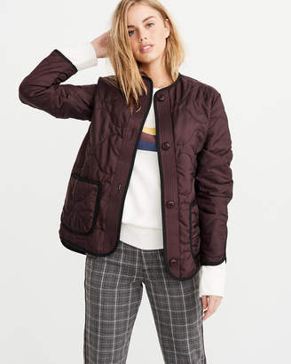 Abercrombie & Fitch Quilted Lightweight Jacket