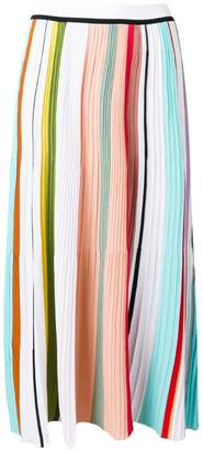 Missoni long plisse skirt