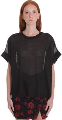 IRO Ryder T-shirt In Black Polyester