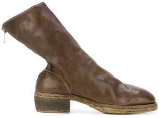 Guidi heeled sock boots