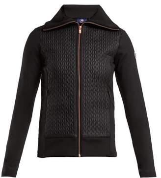 Fusalp - Myrtille Quilted Zip Up Jacket - Womens - Black