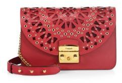 Furla Metropolis Bolero Small Leather Shoulder Bag $828 thestylecure.com