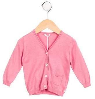 Malo Girls' V-Neck Cardigan