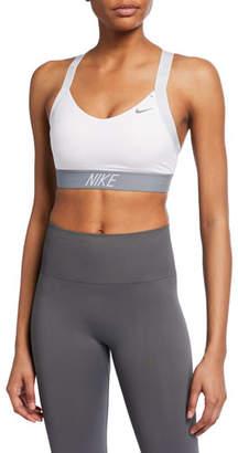 Nike Indy Logo Light Support Performance Sports Bra