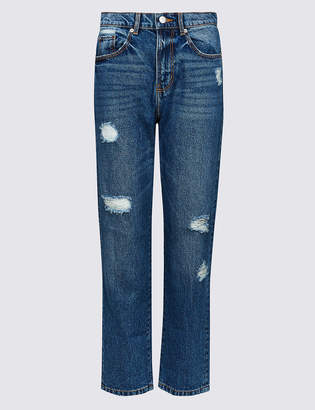 Limited Edition High Waist Straight Leg Jeans