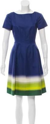 Prada Knee-Length Ombré Dress