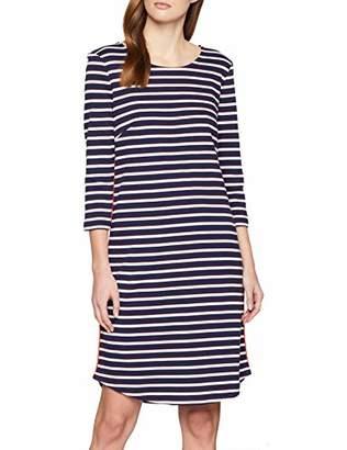 871fb58c3f Tom Tailor Women s s 1009070 Dress True Dark Blue Strip 16358