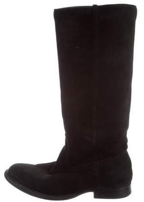Esquivel Nubuck Round-Toe Boots