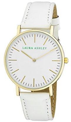 Laura Ashley Women's ' Quartz Metal and Polyurethane Casual Watch, Color:White (Model: LA31020WT) $45.13 thestylecure.com