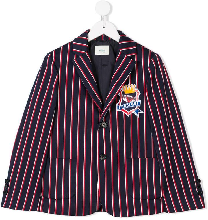 Kids Go striped blazer