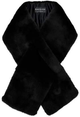 Harrods Mink Fur Collar