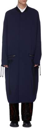 Haider Ackermann Wool fishtail coat