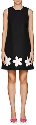 Lisa Perry Women's Fleurty Wool A-Line Dress