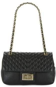 Karl Lagerfeld Paris Agyness Quilted Flap Shoulder Bag