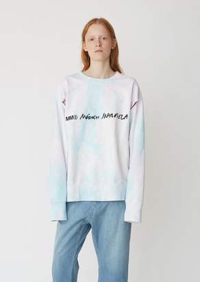 MM6 MAISON MARGIELA Tie Dye Long Sleeve Sweatshirt