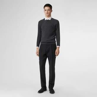 Burberry Monogram Motif Wool Silk Sweater